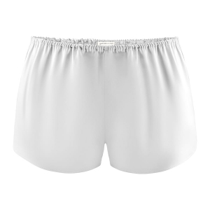 Short en soie Silver Grey